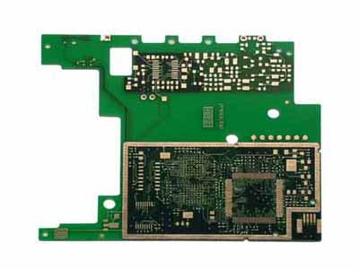 Double-layer PCD circuit board